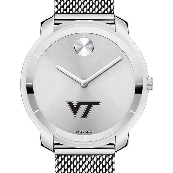 Virginia Tech Women's Movado Stainless Bold 36