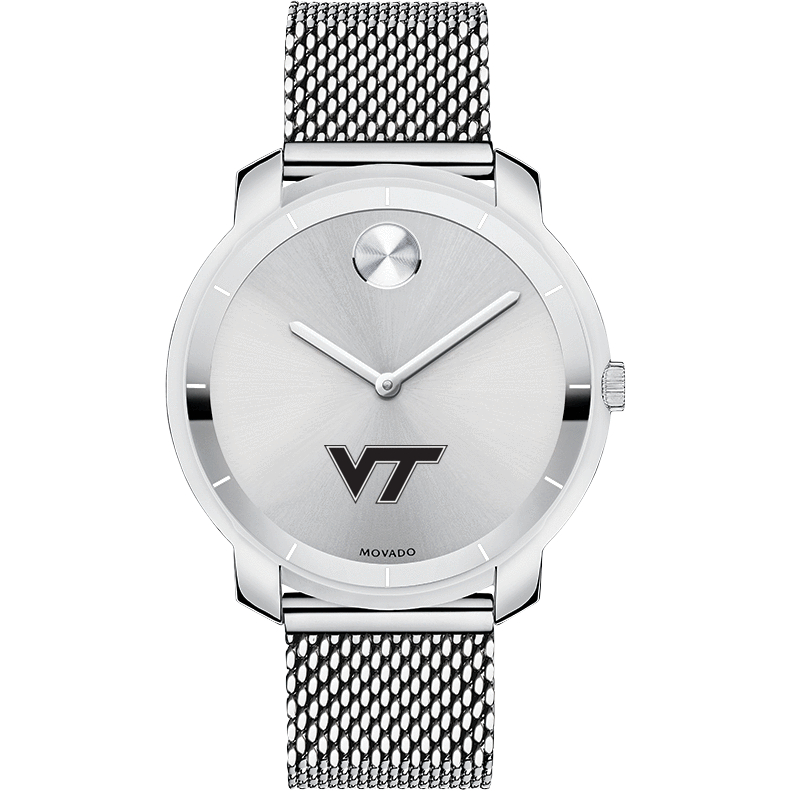 Virginia Tech Women's Movado Stainless Bold 36 - Image 2