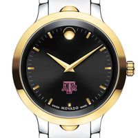 Texas A&M Men's Movado Luno Sport Two-Tone