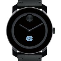 UNC Men's Movado BOLD with Leather Strap
