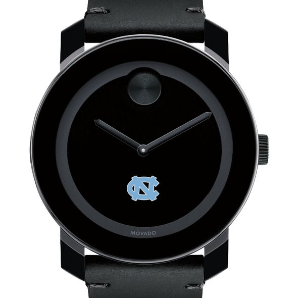 University of North Carolina Men's Movado BOLD with Leather Strap