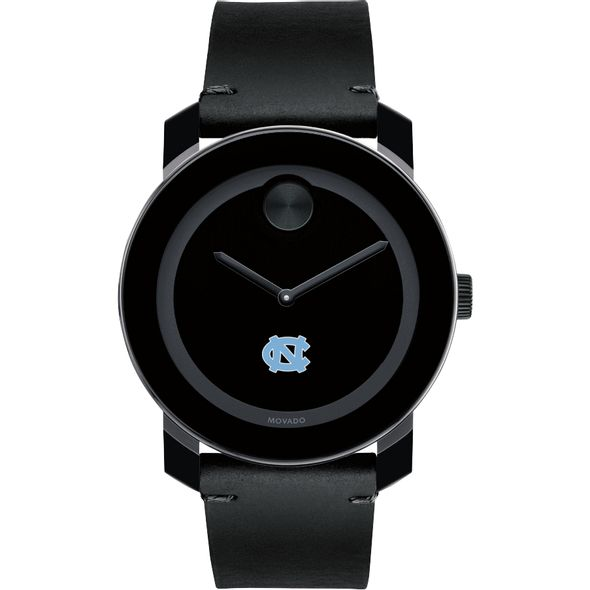 University of North Carolina Men's Movado BOLD with Leather Strap - Image 2