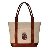Brown University Needlepoint Tote