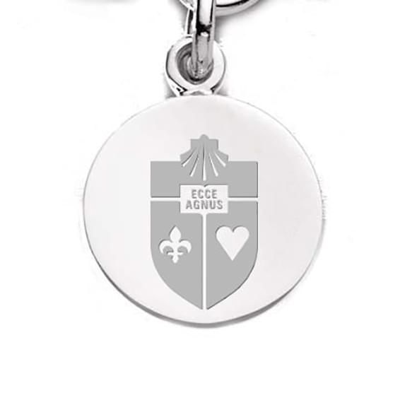 St. John's Sterling Silver Charm - Image 2