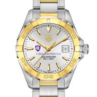 Holy Cross Women's TAG Heuer Two-Tone Aquaracer