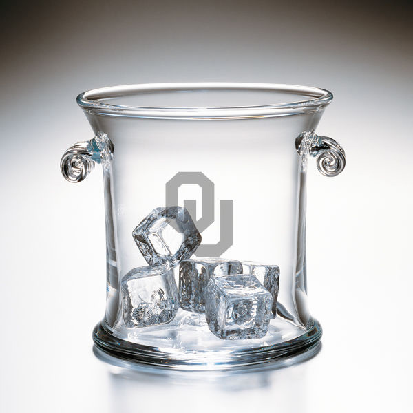 Oklahoma Glass Ice Bucket by Simon Pearce