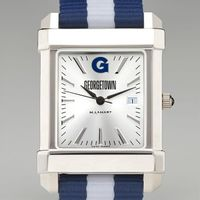 Georgetown University Collegiate Watch with NATO Strap for Men