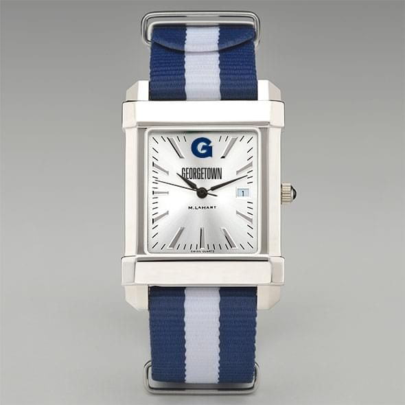 Georgetown University Collegiate Watch with NATO Strap for Men - Image 2