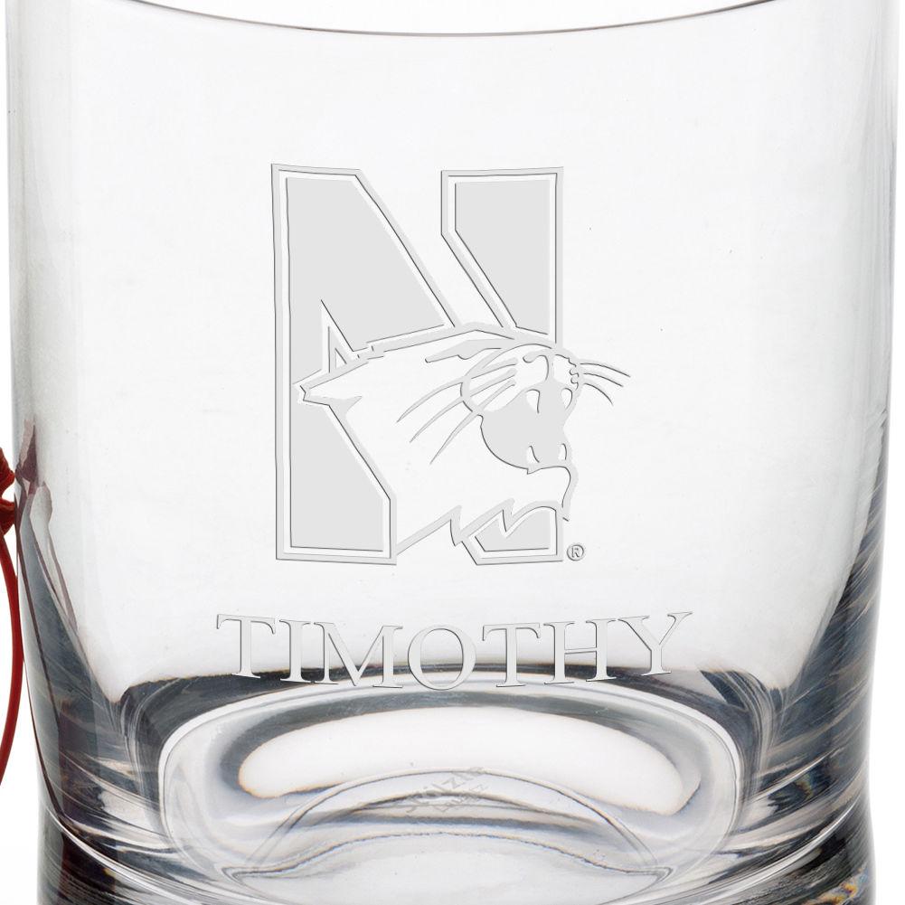 Northwestern University Tumbler Glasses - Set of 4 - Image 3