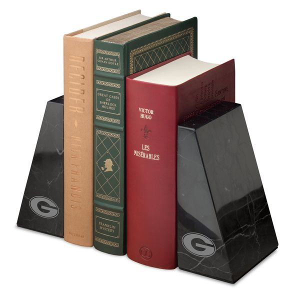 University of Georgia Marble Bookends by M.LaHart