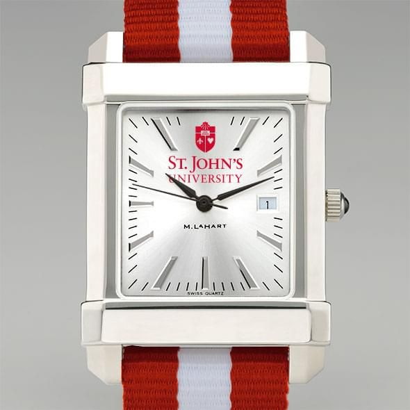 St. John's University Collegiate Watch with NATO Strap for Men