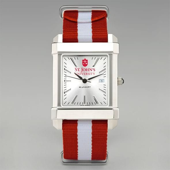 St. John's University Collegiate Watch with NATO Strap for Men - Image 2
