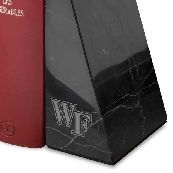 Wake Forest University Marble Bookends by M.LaHart - Image 2