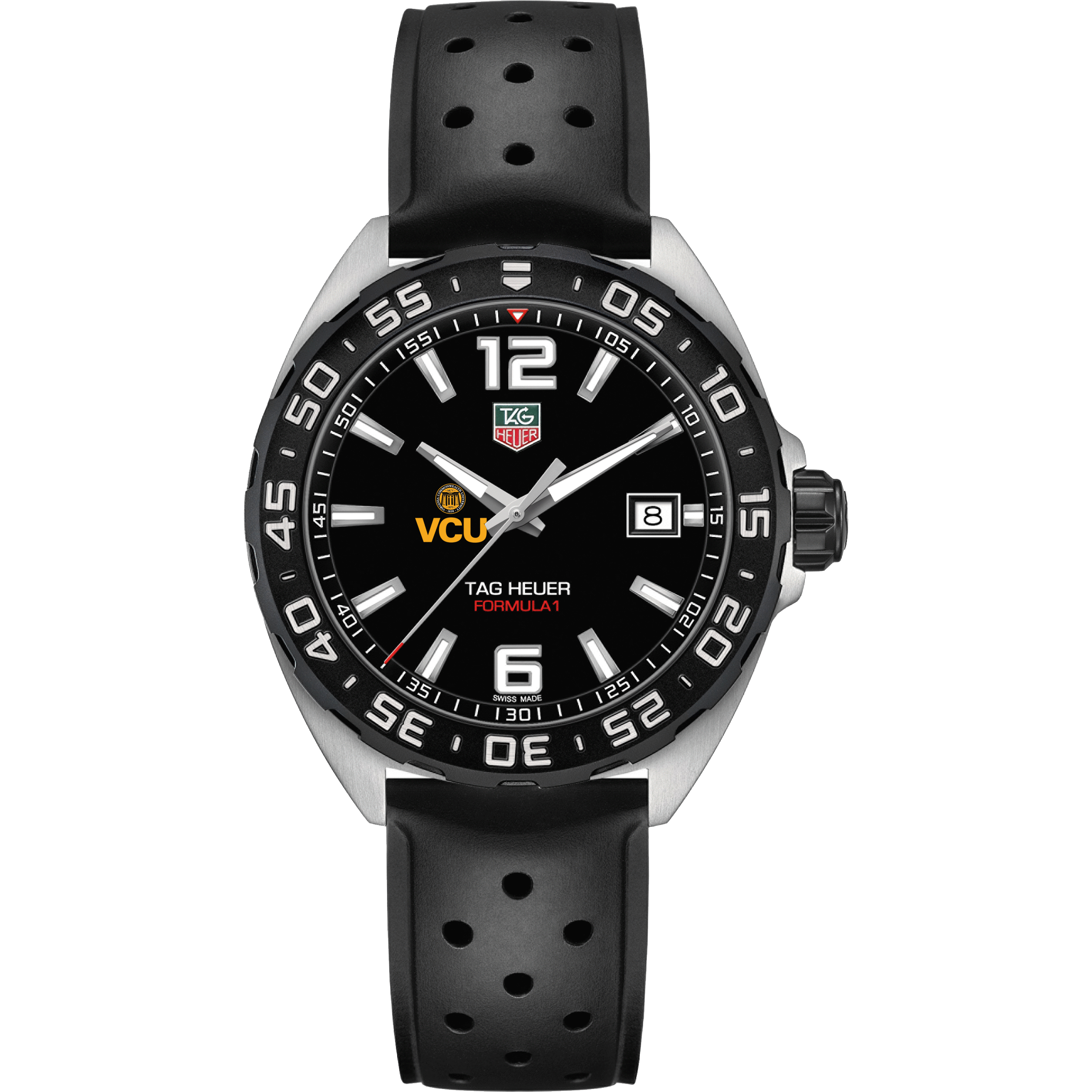 VCU Men's TAG Heuer Formula 1 with Black Dial - Image 2