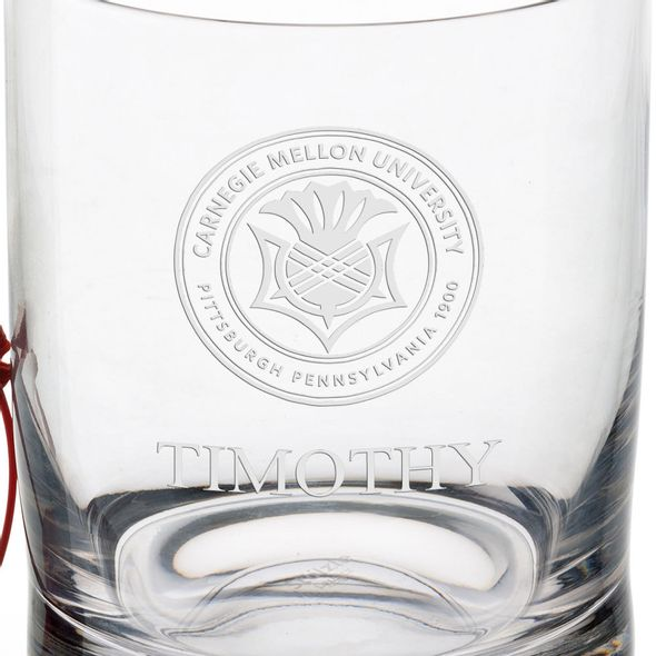 Carnegie Mellon University Tumbler Glasses - Set of 2 - Image 3