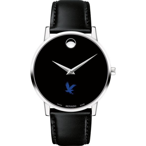 Embry-Riddle Men's Movado Museum with Leather Strap - Image 2