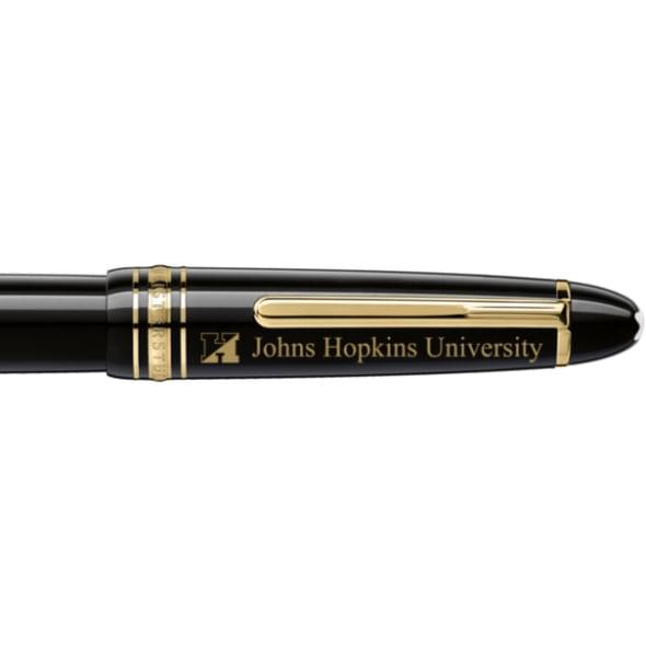 Johns Hopkins University Montblanc Meisterstück LeGrand Rollerball Pen in Gold - Image 2