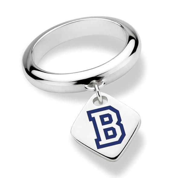 Bucknell University Sterling Silver Ring with Sterling Tag