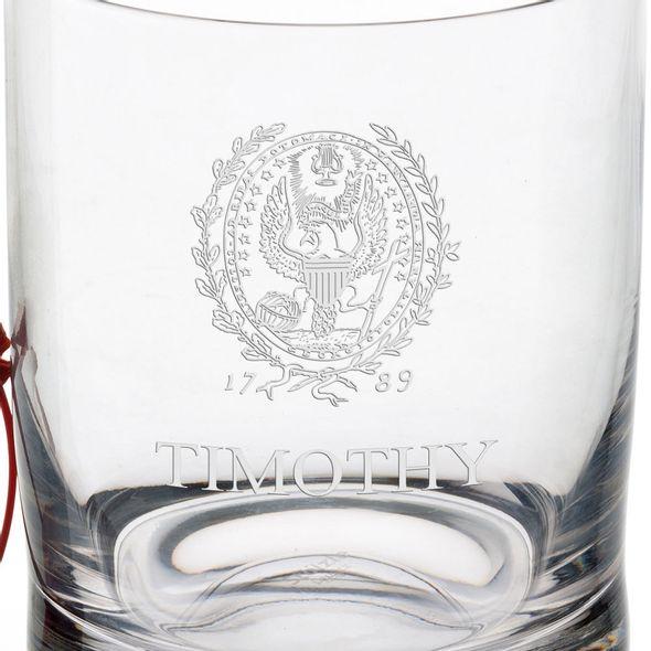 Georgetown University Tumbler Glasses - Set of 2 - Image 2