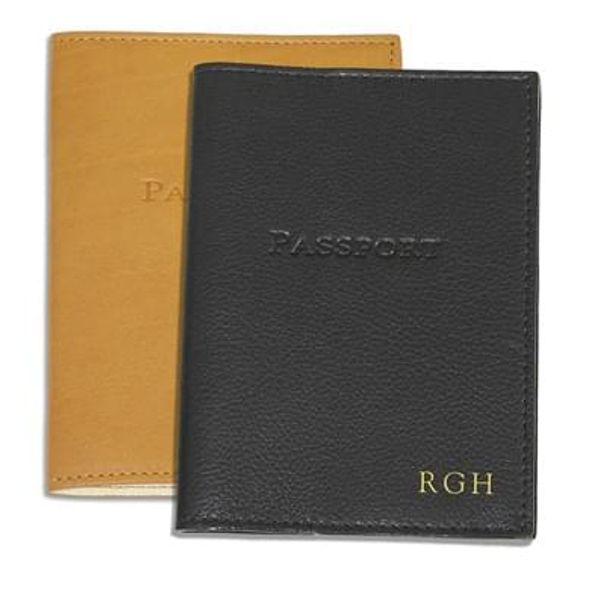 Leather Passport Cover - Image 1