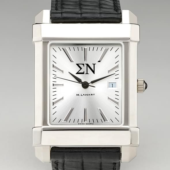 Sigma Nu Men's Collegiate Watch with Leather Strap - Image 1