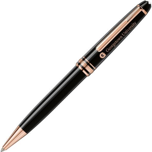 Georgetown University Montblanc Meisterstück Classique Ballpoint Pen in Red Gold