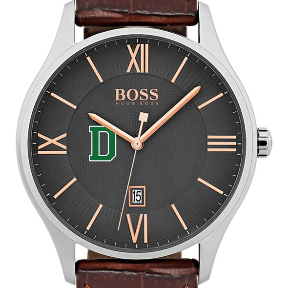 Dartmouth College Men's BOSS Classic with Leather Strap from M.LaHart