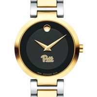 Pitt Women's Movado Two-Tone Modern Classic Museum with Bracelet