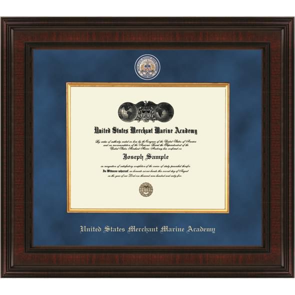 US Merchant Marine Academy Diploma Frame - Excelsior | Graduation Gift