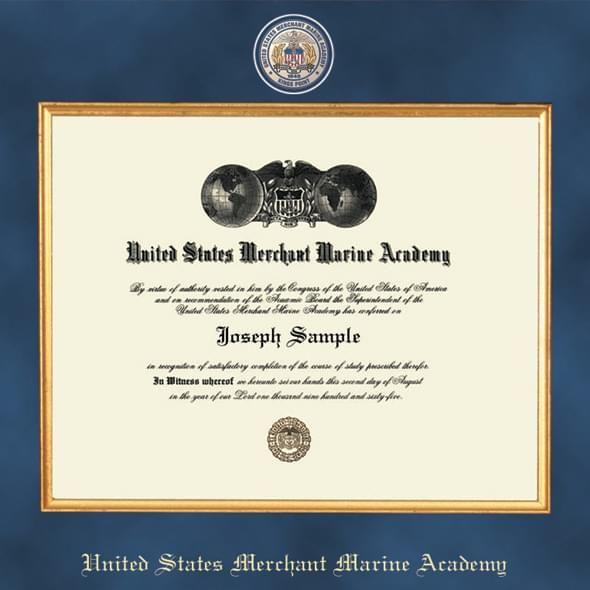 Merchant Marine Academy Excelsior Diploma Frame - Image 2