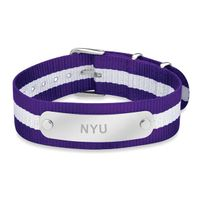New York University NATO ID Bracelet