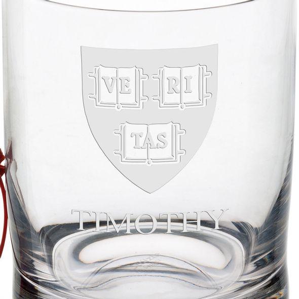 Harvard University Tumbler Glasses - Set of 2 - Image 3