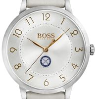 U.S. Naval Institute Women's BOSS White Leather from M.LaHart