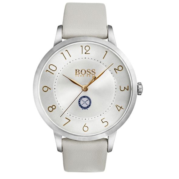 U.S. Naval Institute Women's BOSS White Leather from M.LaHart - Image 2
