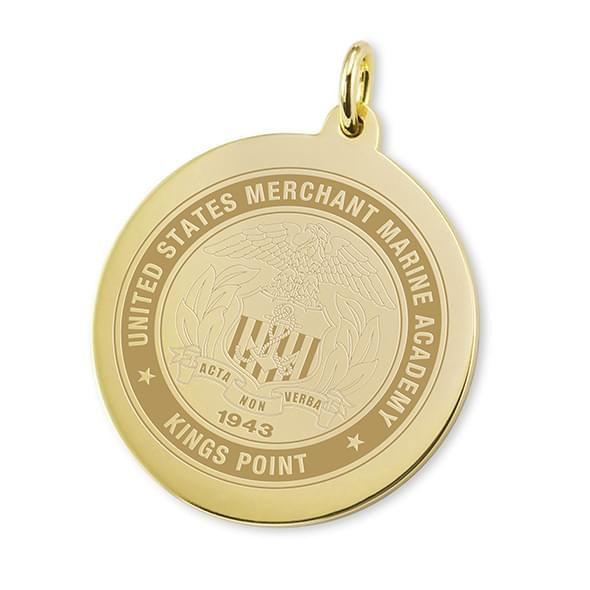 Merchant Marine Academy 18K Gold Charm - Image 1