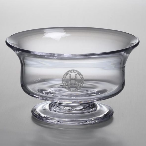 WashU Simon Pearce Glass Revere Bowl Med