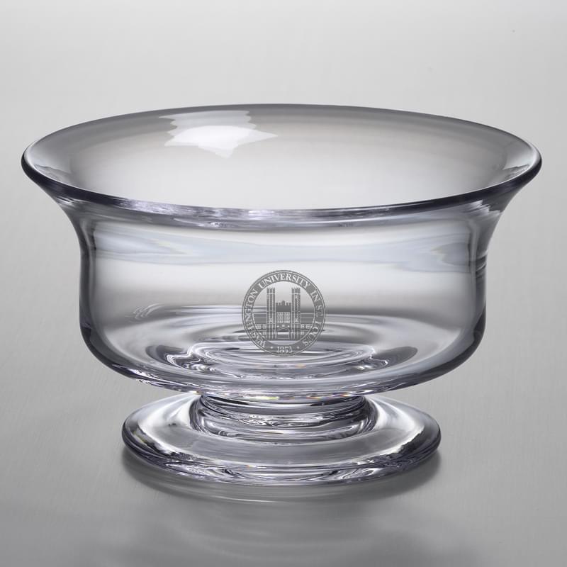 WUSTL Medium Glass Revere Bowl by Simon Pearce