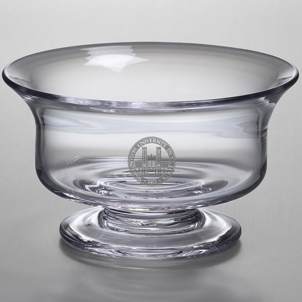 WUSTL Medium Glass Revere Bowl by Simon Pearce - Image 2