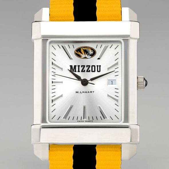 University of Missouri Collegiate Watch with NATO Strap for Men - Image 1