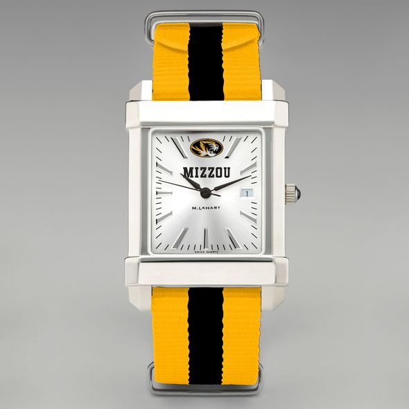 University of Missouri Collegiate Watch with NATO Strap for Men - Image 2