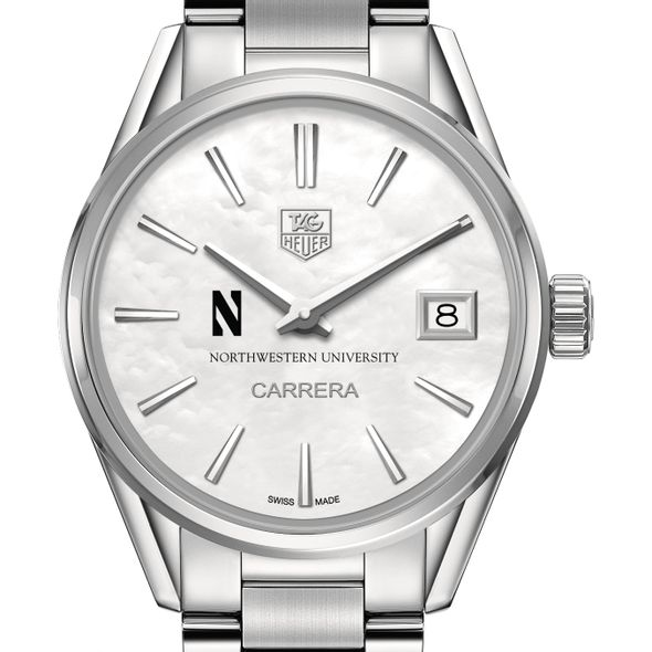 Northwestern University Women's TAG Heuer Steel Carrera with MOP Dial