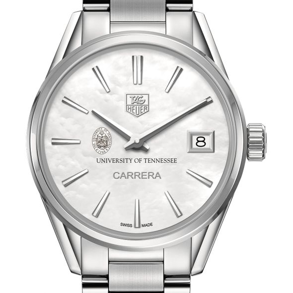 University of Tennessee Women's TAG Heuer Steel Carrera with MOP Dial