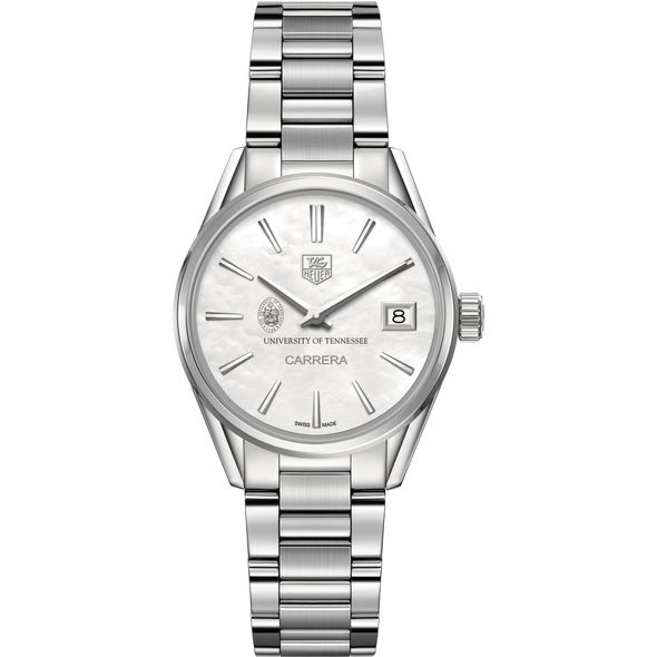 University of Tennessee Women's TAG Heuer Steel Carrera with MOP Dial - Image 2