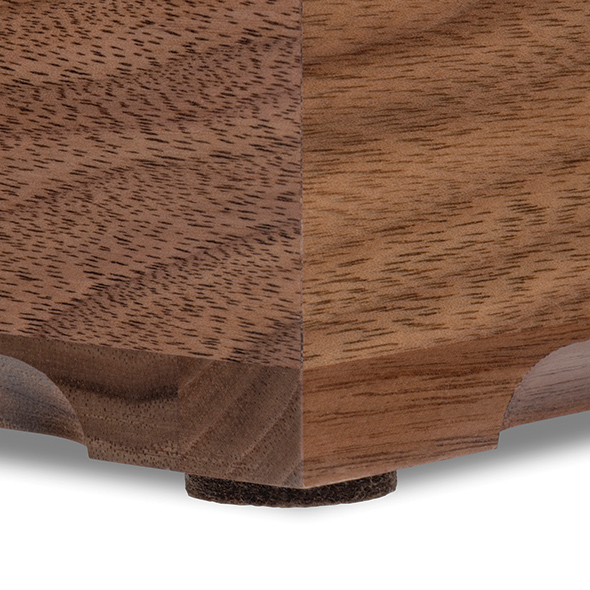 Georgia Tech Solid Walnut Desk Box - Image 4