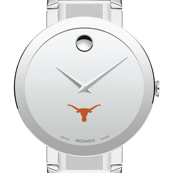 University of Texas Men's Movado Sapphire Museum with Bracelet