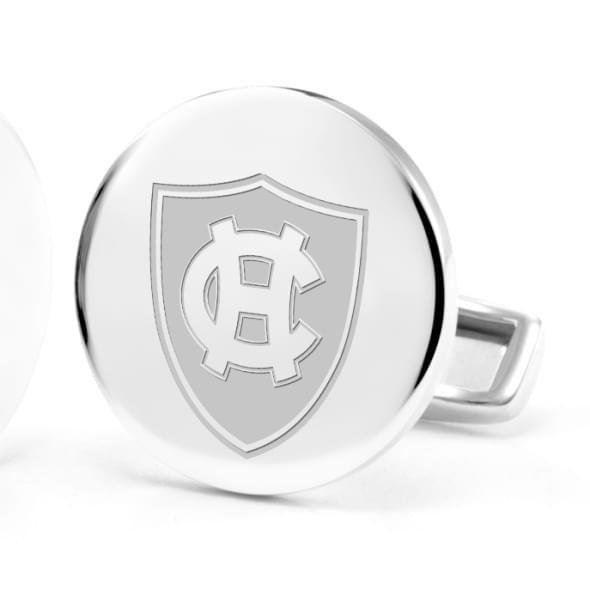 Holy Cross Cufflinks in Sterling Silver - Image 2