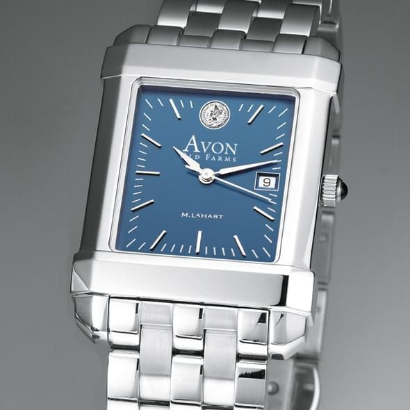 Avon Old Farms Men's Blue Quad Watch with Bracelet