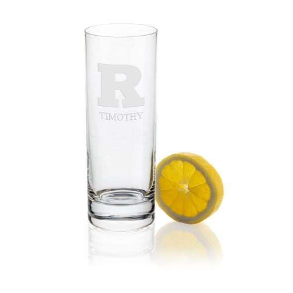 Rutgers University Iced Beverage Glasses - Set of 4