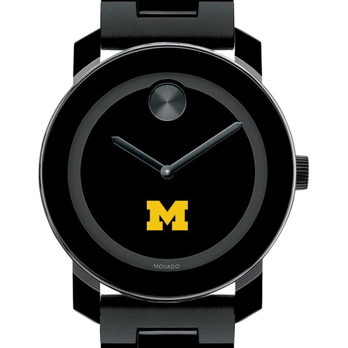 University of Michigan Men's Movado BOLD with Bracelet