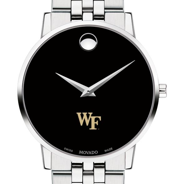 Wake Forest University Men's Movado Museum with Bracelet - Image 1